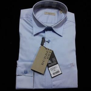 BURBERRY BRIT PALE BLUE MEN SHIRT